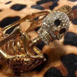 Skeleton bangle bracelet, NWOT